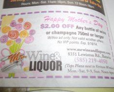 Save $2 at Mr. Wine & Liquor