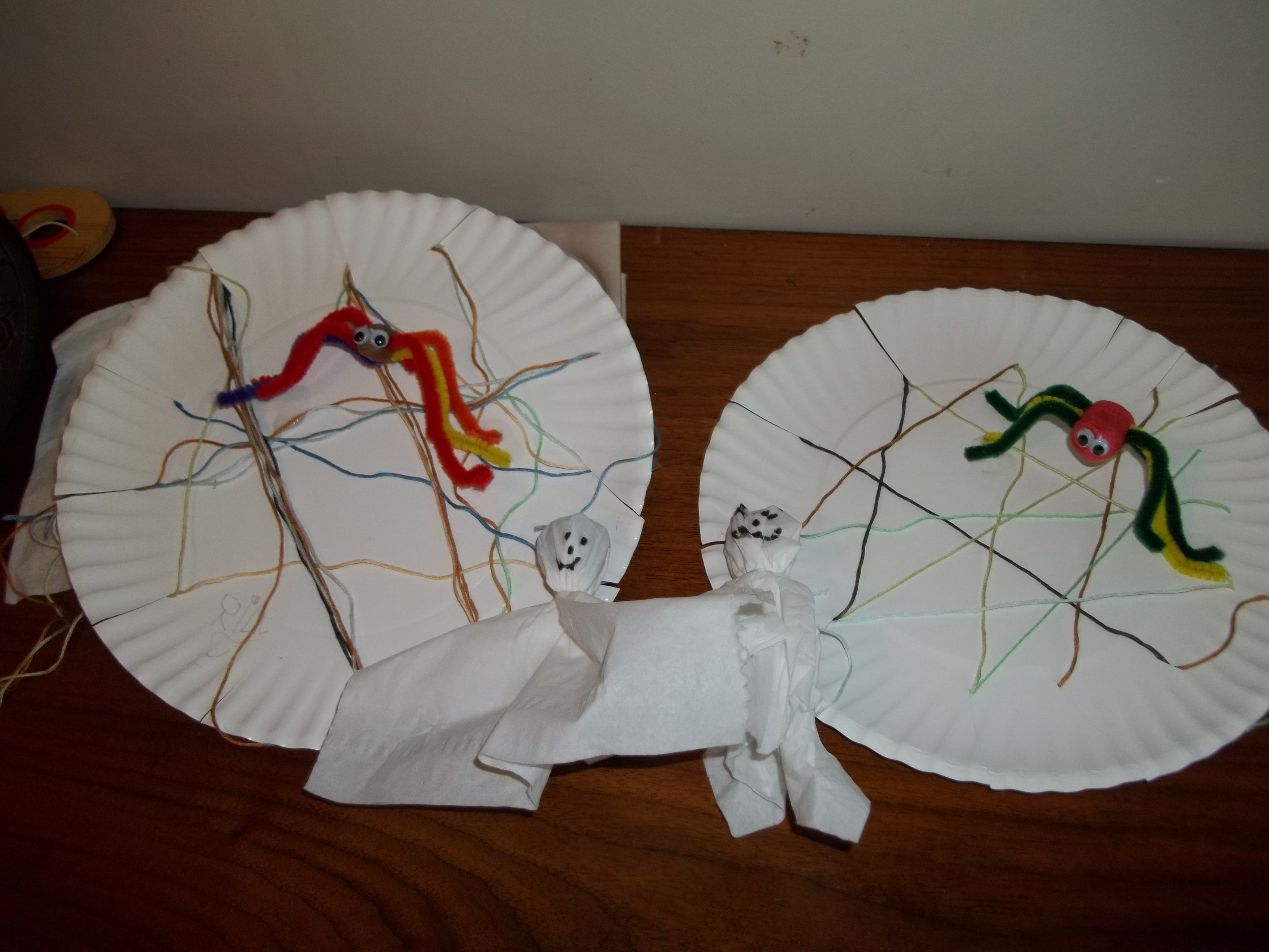The very busy spider lesson plan