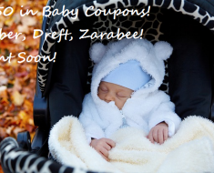 *NEW* $9.50 in BABY COUPONS, Gerber, Dreft, Zarabee's!
