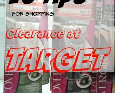 10 tips to shop clearance at target