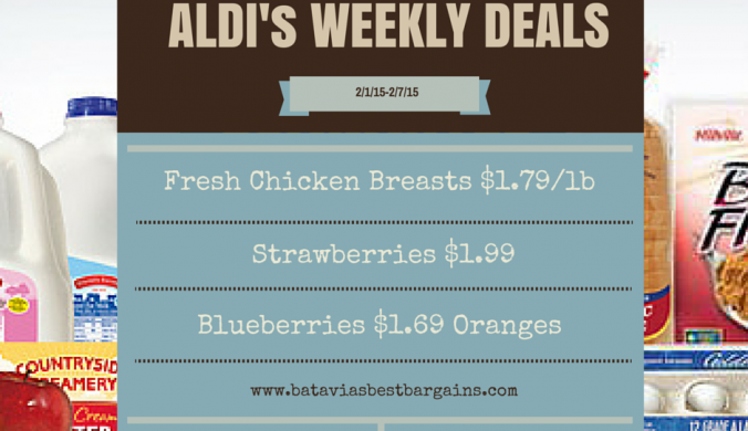 Aldi sale items for the week