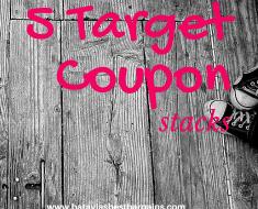 5 Target coupon stacks