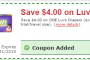 Luvs Tops Store coupon