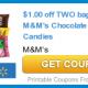 M&ms printable coupon