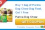 Dog Food Purina coupon
