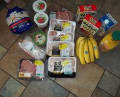 MY Weekly Grocery Shopping Trip $64.91 for a family of 4 and meal menu