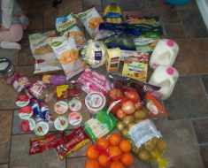 My Weekly Grocery Trip for a family of four $66.20 with meal plans