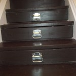 Turn your stairs into drawers