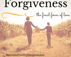 Forgiveness: A constant heartache, but there is a way.