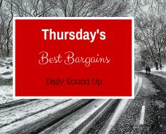 Thursdays best bargain round up