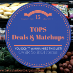 Tops coupon match ups for 3/1