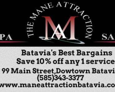 Mane Attraction Exclusive Coupon- 10% off any 1 service
