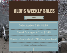 Aldi weekly deals for 2/8