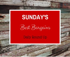 Sunday's Best Bargains: Your one stop shop for all the best online and in store deals!