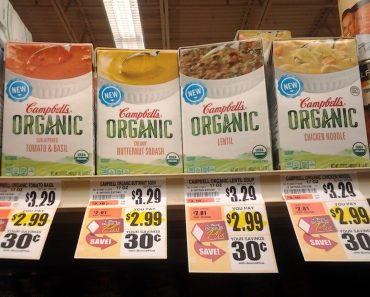 TOPS: Organic Campbell's Soup $1.99 with printable