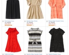 Crazy 8 60% off this weekend, Dresses as low as $5.99!