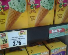 tops keeler ice cream cones deal