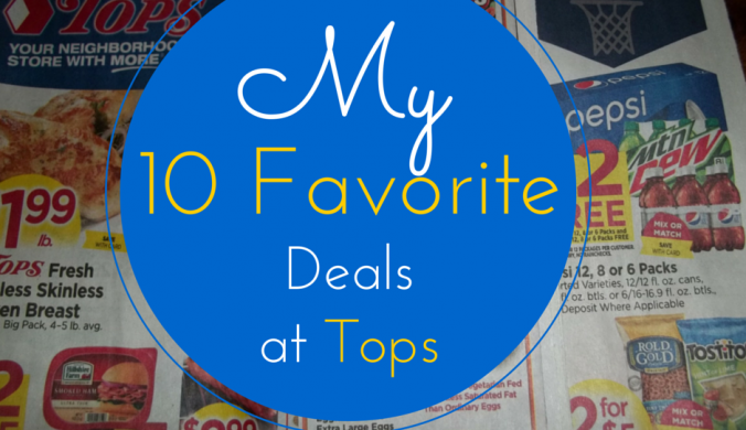 my 10 favorite deals at tops