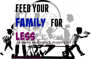 feed your family for less