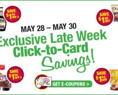 tops late week 5/28 coupons