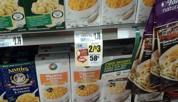 gluten free organic mac and cheese