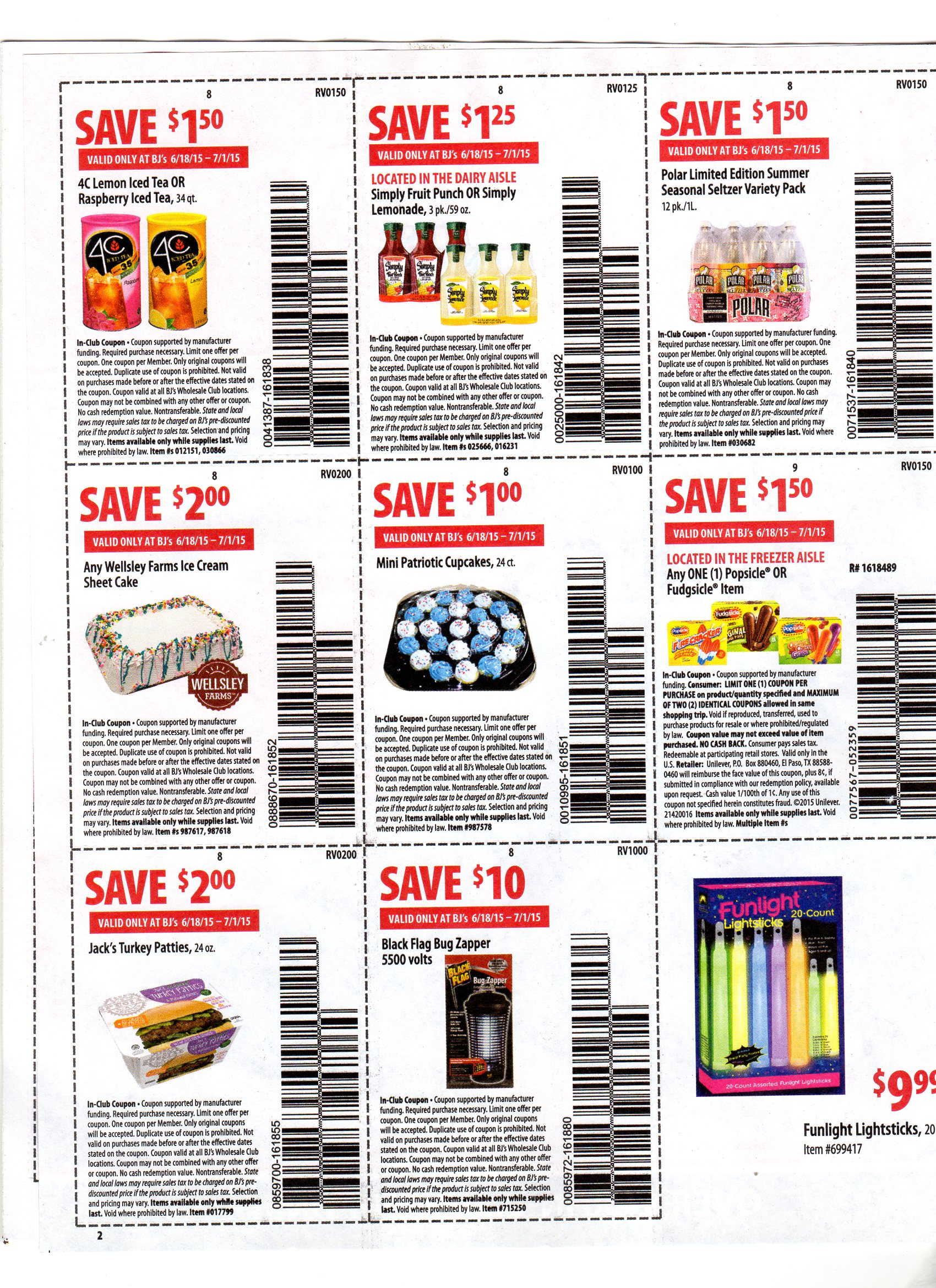 bj's front of store coupons & deal ideas