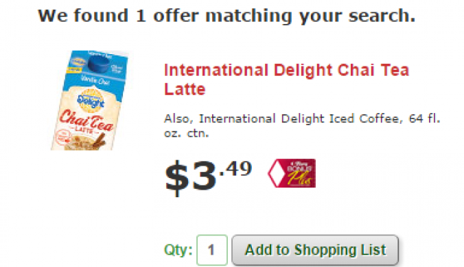 international delight iced coffee deal