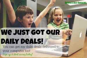 daily deals signup