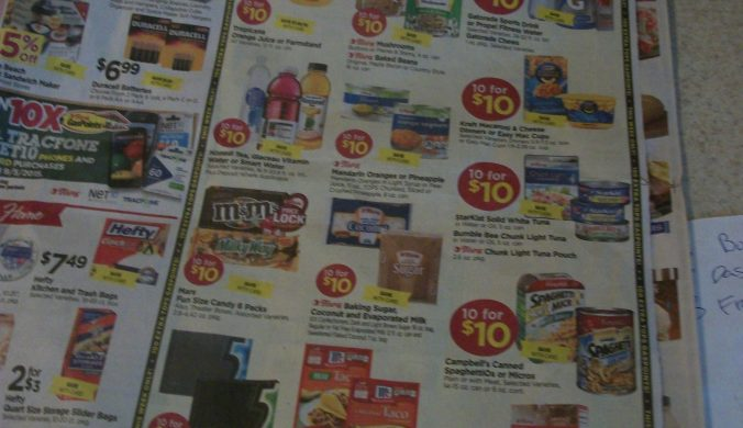 tops $10 for 10 gas points sale