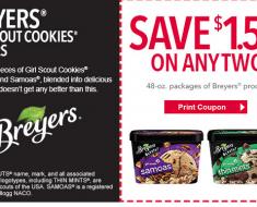 $1.50/2 breyers ice cream coupon