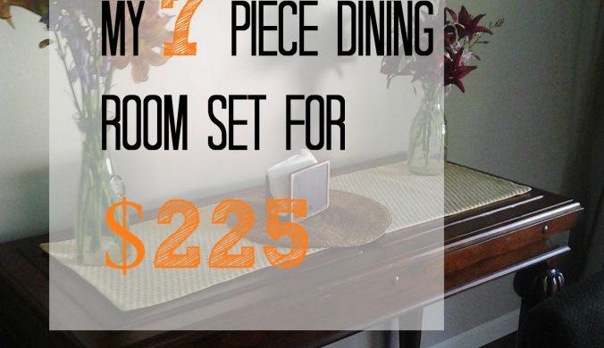 thrfit store dining room set