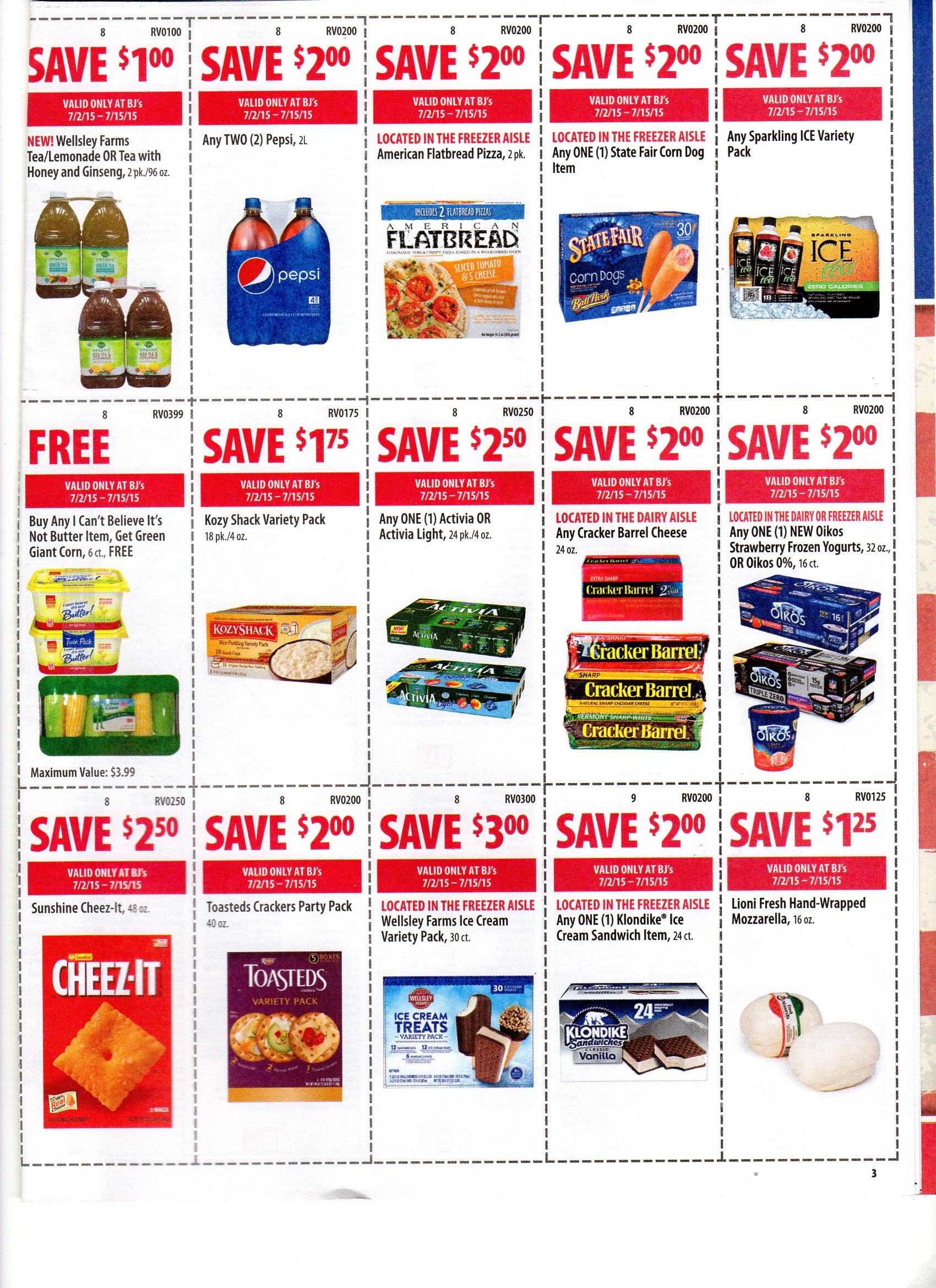 bjs printable coupons bj s front of coupons for 7 2 7 15 20619