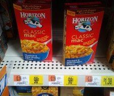 walmart horizon mac & cheese deal