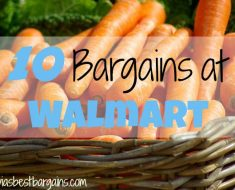 10 bargains at walmart 8/9