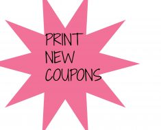 8/21 new printable coupons