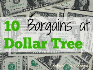 10 deals at dollar tree