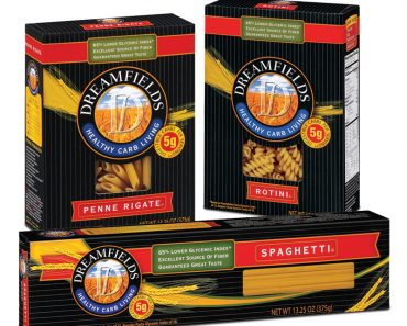 dreamfield pasta free at tops