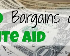 10 bargains at rite aid