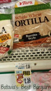 tops wheat tortillas feed family
