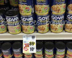 goya beans deal at tops