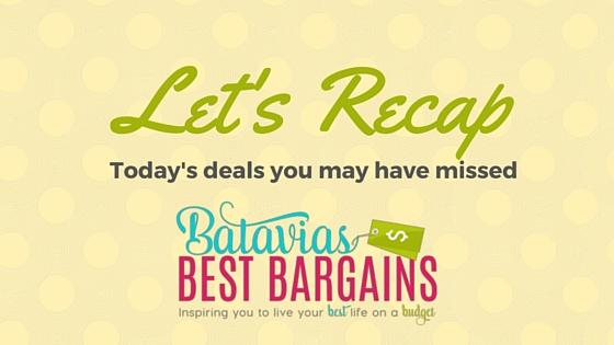 todays deals roundup