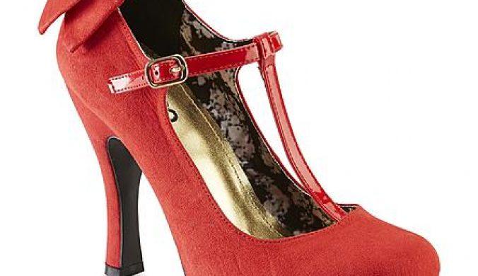 red dress shoe