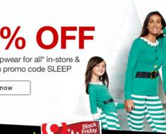 target pjs 40% off target