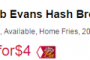 bob evans deal at tops