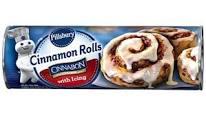 TOPS: Pillsbury Cinnamon Rolls $1