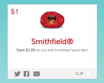 graphic regarding Bjs One Day Pass Printable identify Refreshing* $1 off Smithfield Ham Printable Coupon + Package deal at Tops