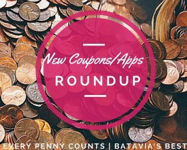 new coupons/app savings