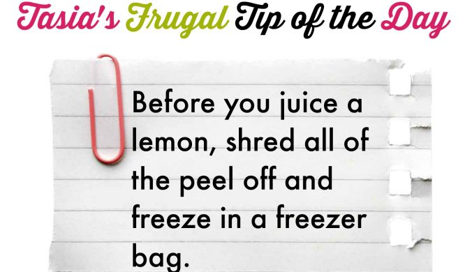 frugal tip #5