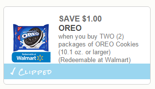 redeemable only at Walmart Coupons