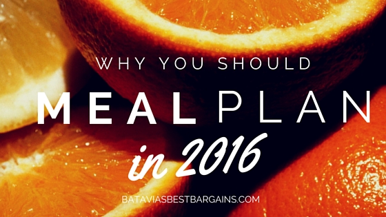 why you should meal plan 2016